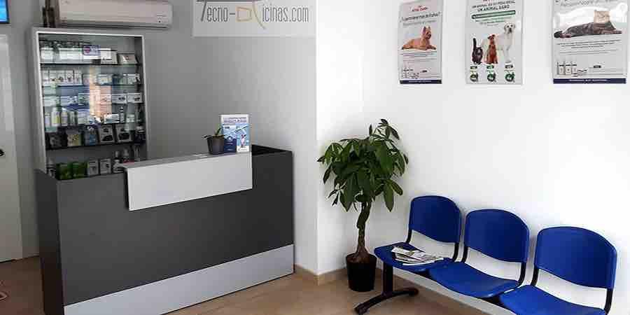 Muebles recepción clinica dental
