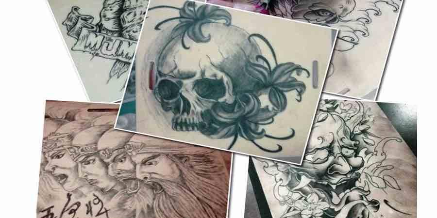 dibujos de tatuajes, piel sintetica para la practica del tatuaje,piel sintética para tatuar,tattoo piel sintética,pieles sintéticas para tatuar
